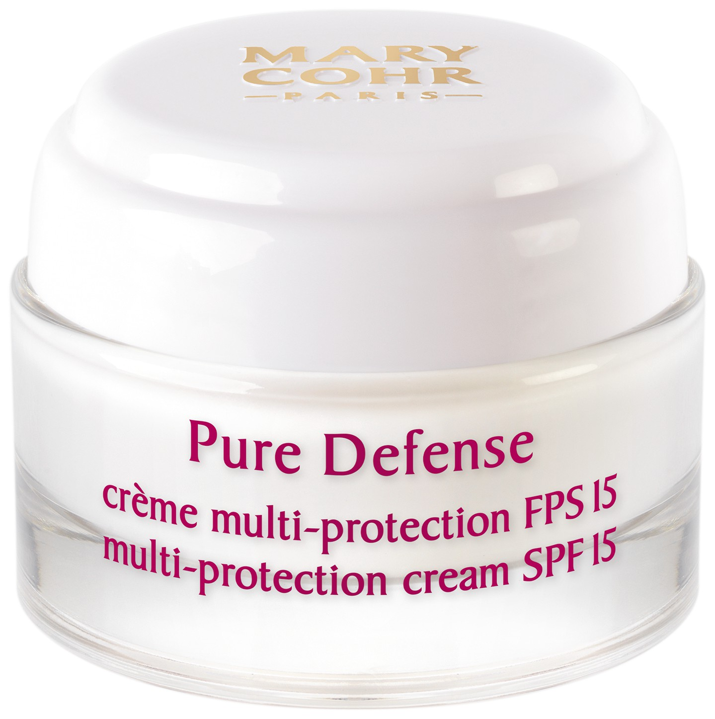 Pure Defense Crème Multi-protection SPF 15